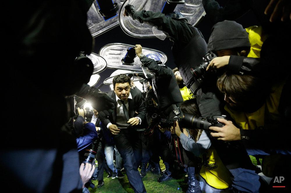 APTOPIX Argentina Soccer Copa Libertadores