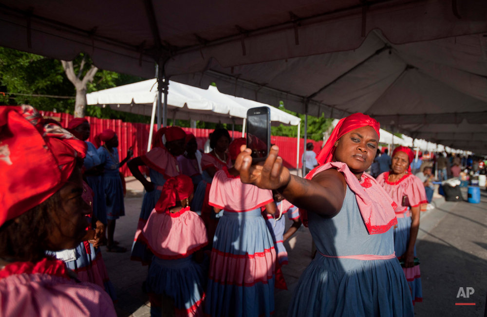 APTOPIX Haiti May Day