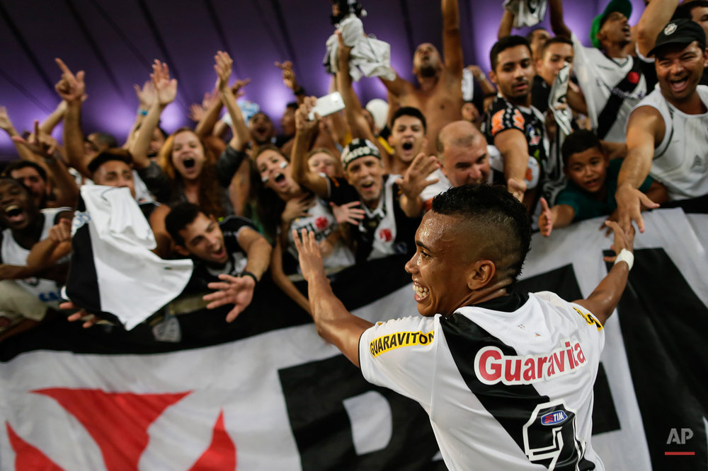 APTOPIX Brazil Soccer