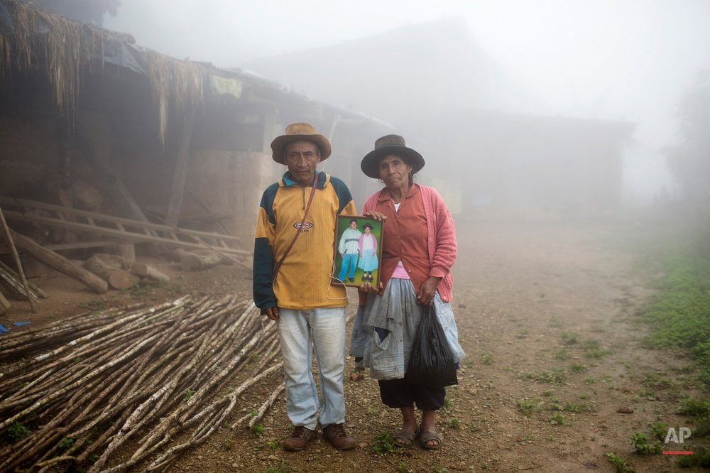 APTOPIX Peru Cocaine Backpackers