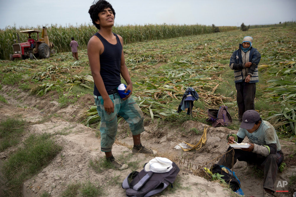 Peru Anti-Mining Farmers Photo Gallery