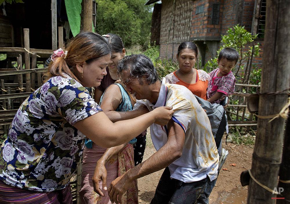 Myanmar 22 Years a Slave