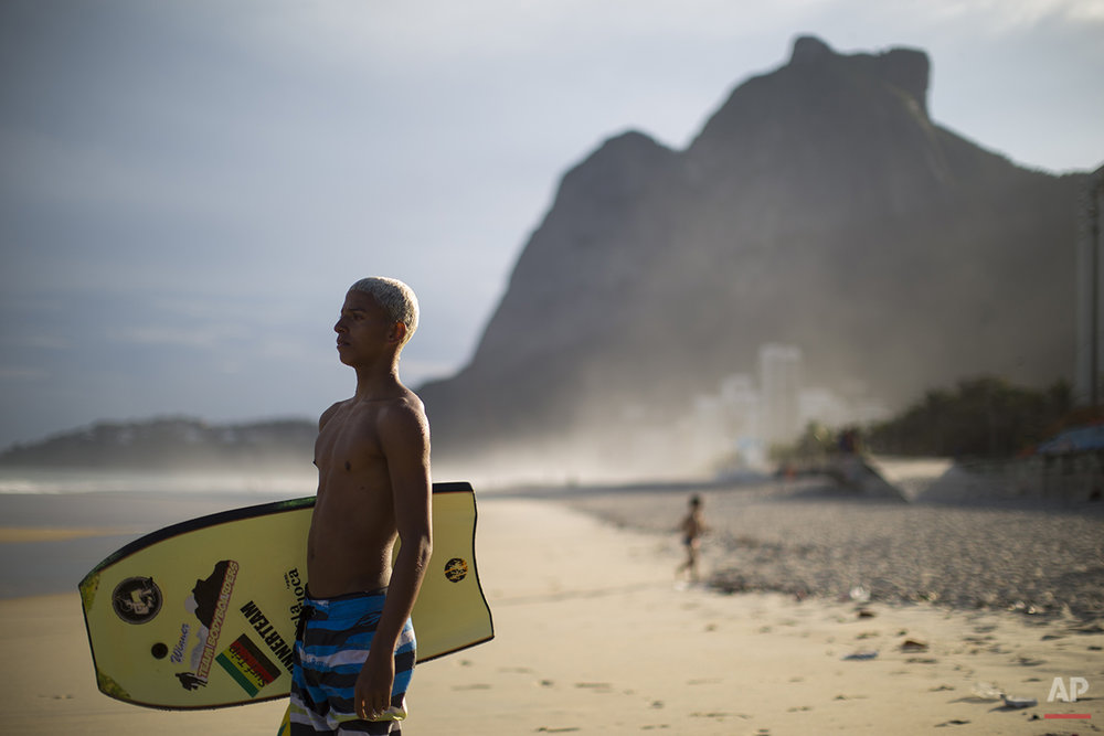 APTOPIX Brazil Slum Surfing Photo Gallery