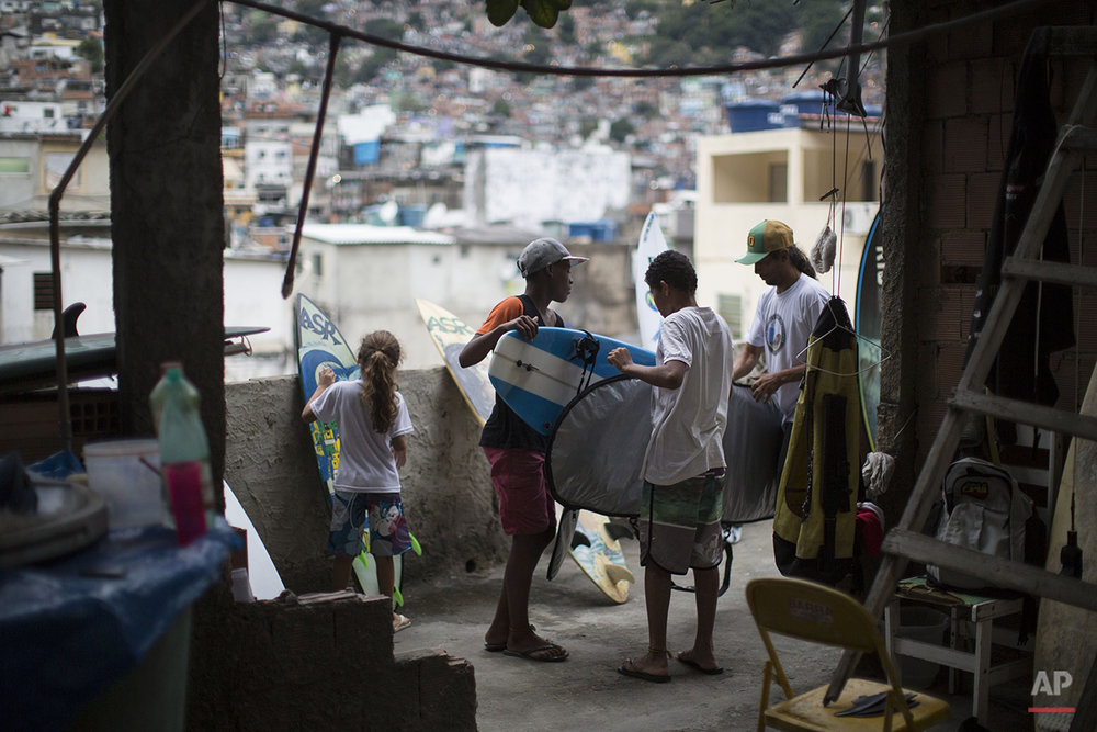 Brazil Slum Surfing Photo Gallery