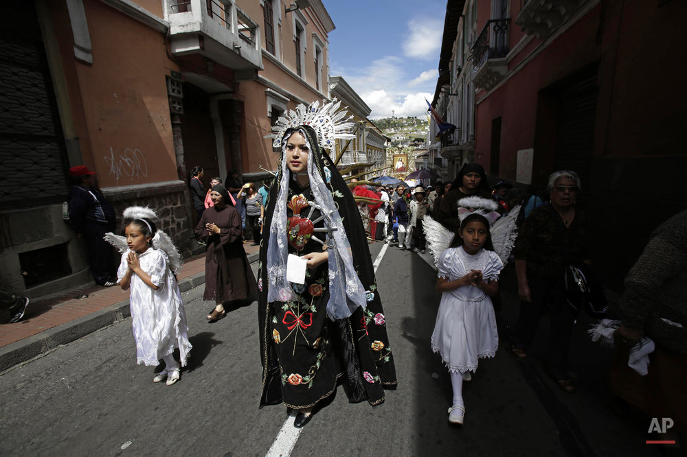 APTOPIX Ecuador Pope Indigeneous Photo Gallery