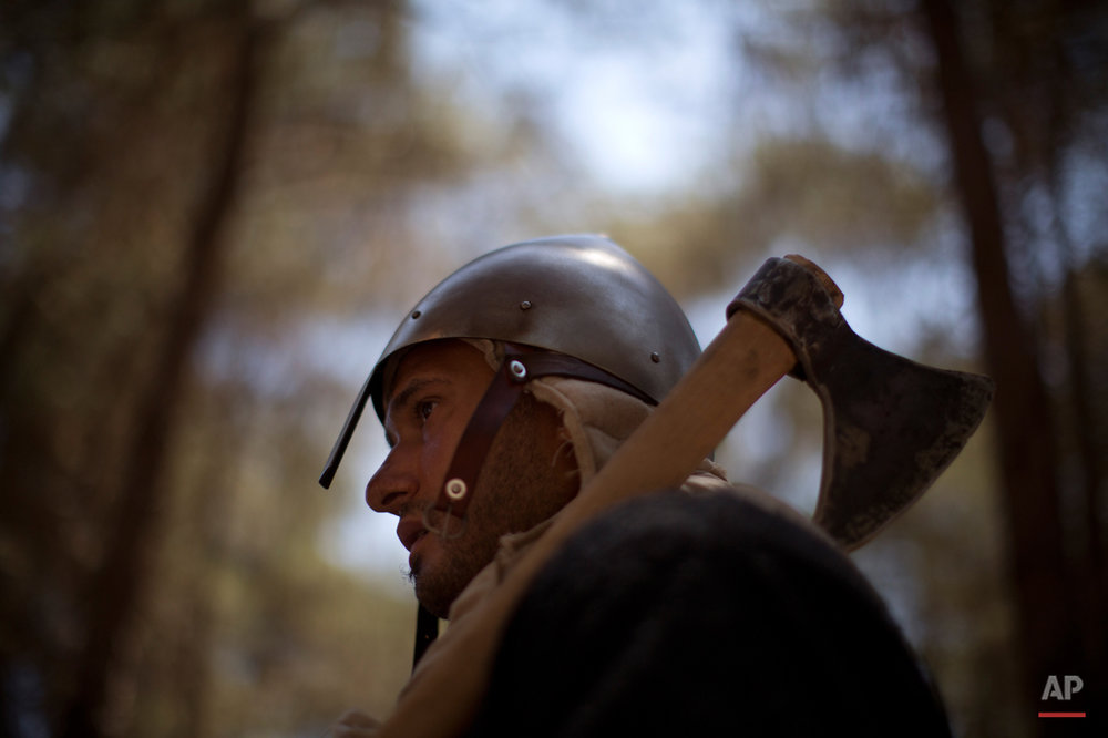 Mideast Israel Horns of Hattin Photo Essay