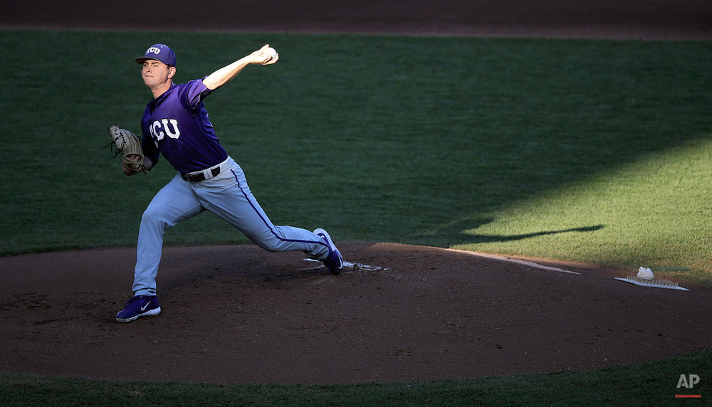 APTOPIX CWS TCU Vanderbilt Baseball