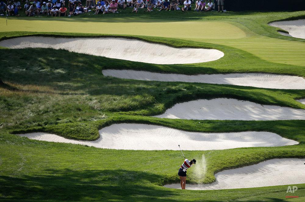 APTOPIX Womens US Open Golf