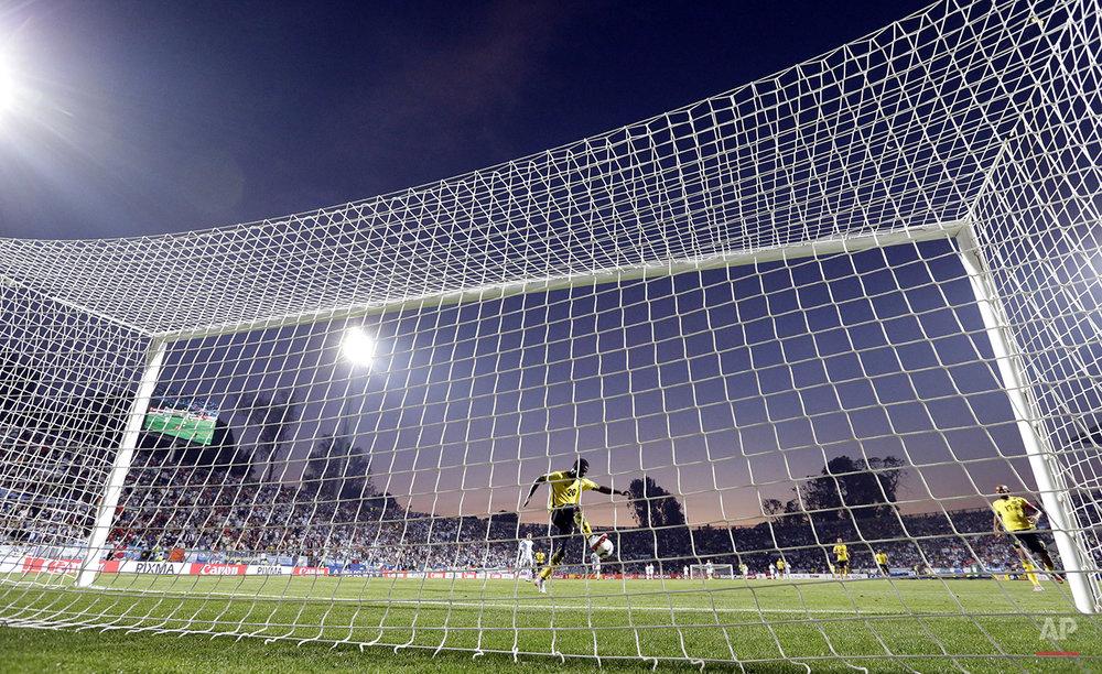 APTOPIX Chile Soccer Copa America Argentina Jamaica