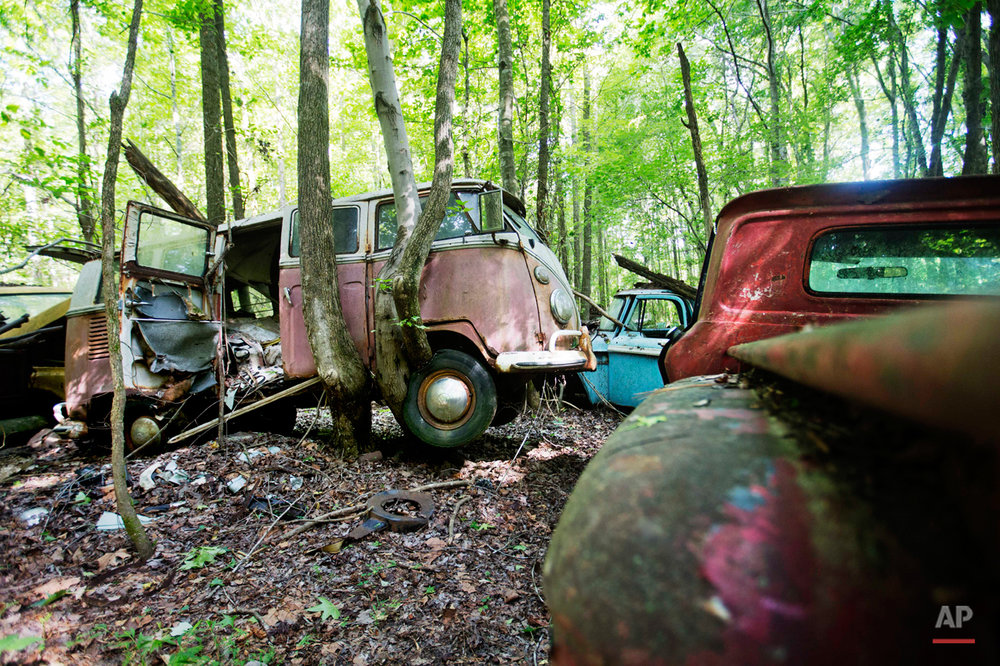 Classic Car Junkyard Photo Gallery