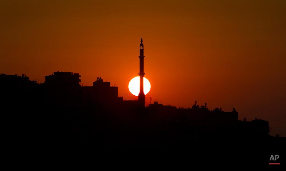 Mideast Palestinians Eid al-Fitr