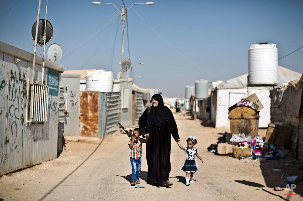 Mideast Syrian Refugees Eid Al Fitr