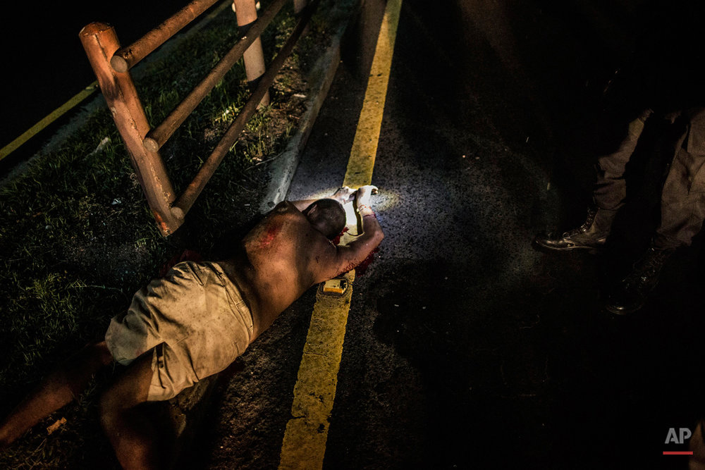 APTOPIX Salvador Violence