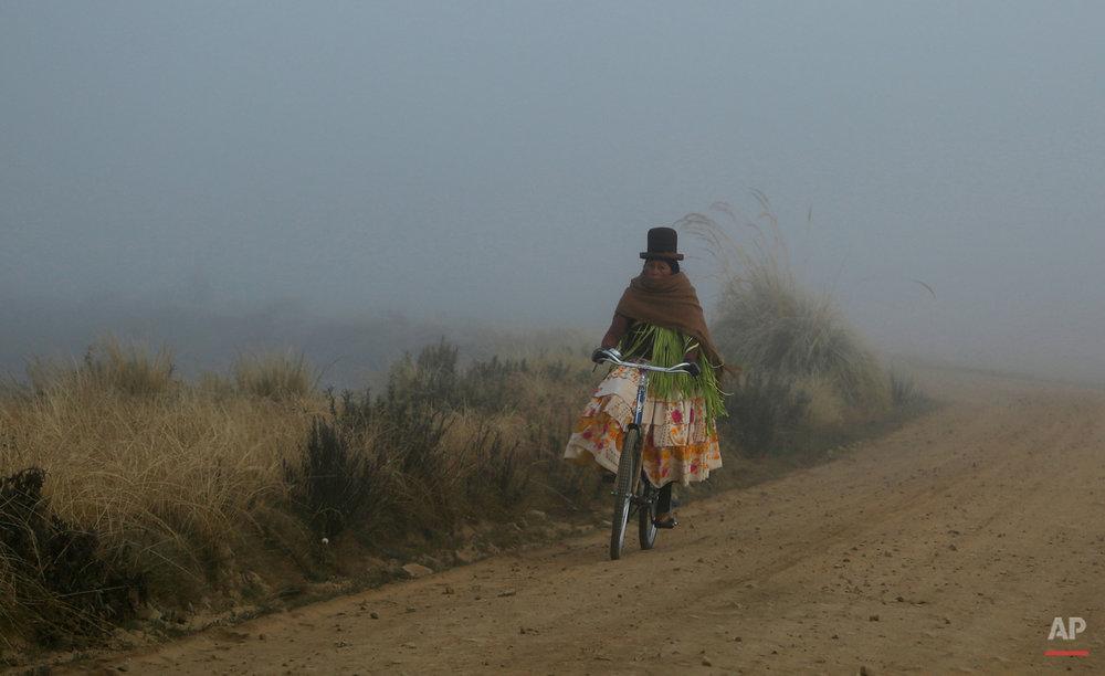 APTOPIX Bolivia Titicaca Contamination