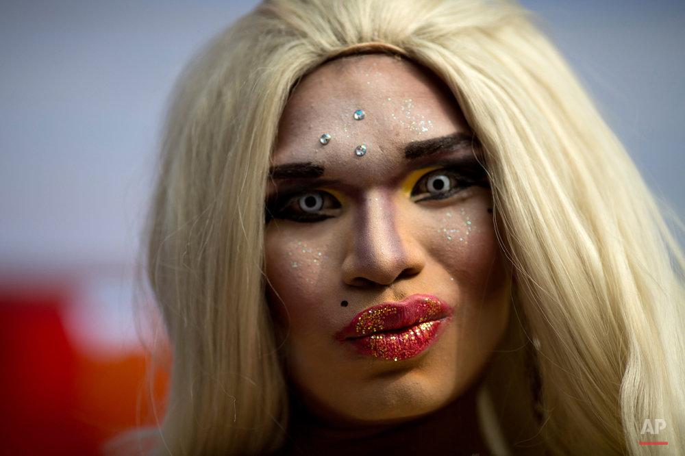 APTOPIX Peru Gay Pride Parade