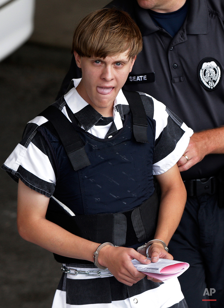 APTOPIX Charleston Shooting