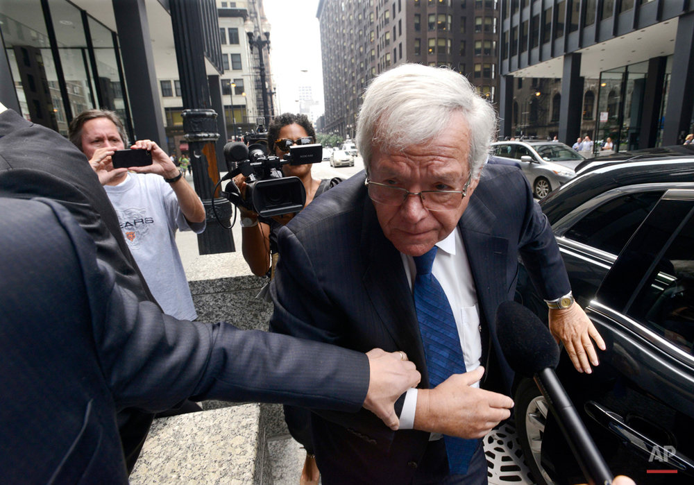 APTOPIX Dennis Hastert Indictment