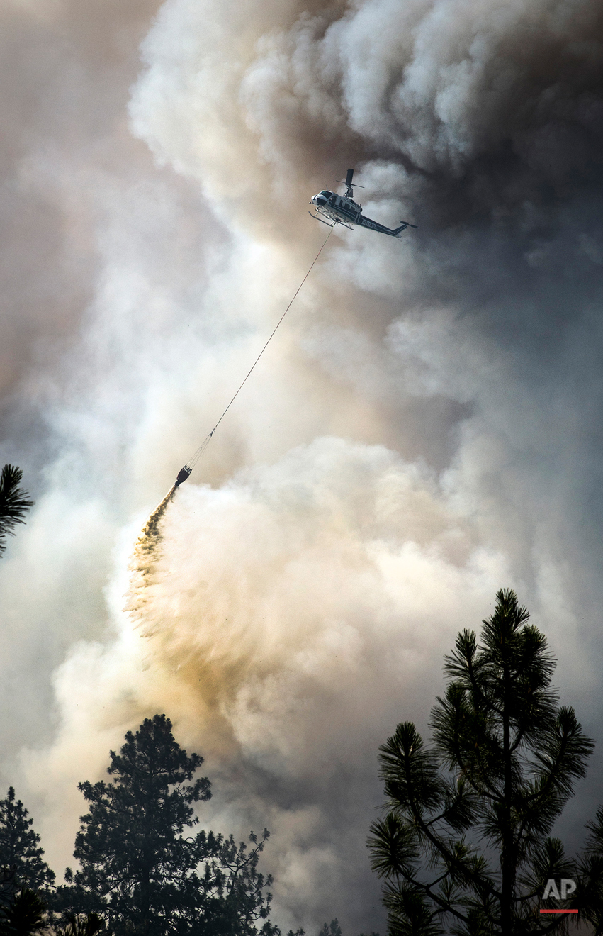 APTOPIX Washington Wildfire