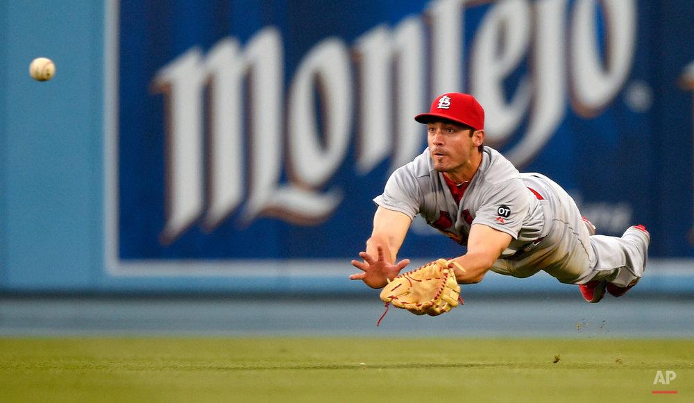 APTOPIX Cardinals Dodgers Baseball