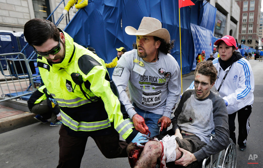 Boston Marathon Bombing Photo Gallery