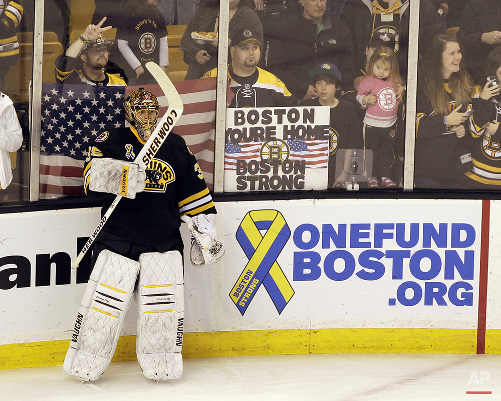 Marathon Bombing Boston Sports Baseball