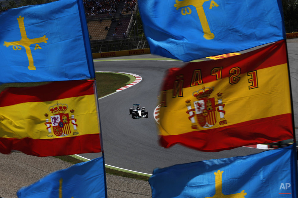 APTOPIX Spain F1 GP Auto Racing