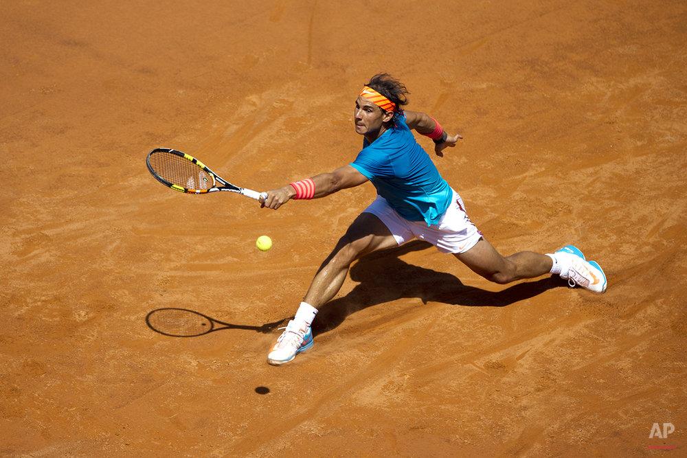 APTOPIX Italy Tennis Italian Open