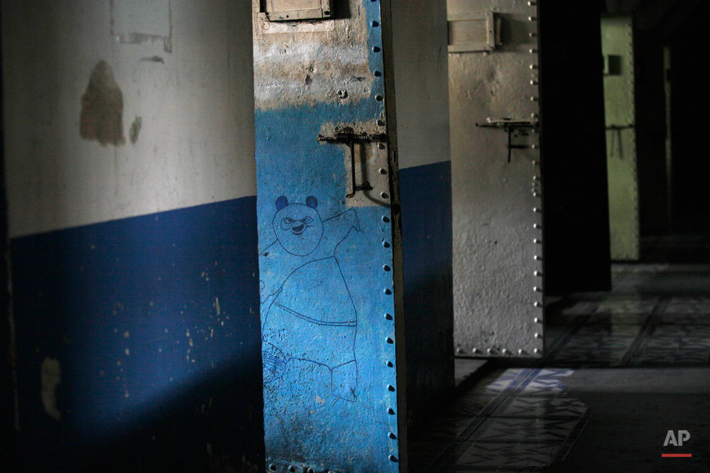 APTOPIX Ecuador Abandoned Prison Photo Essay