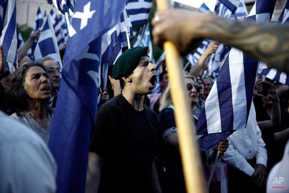 Greece The Bailout Years