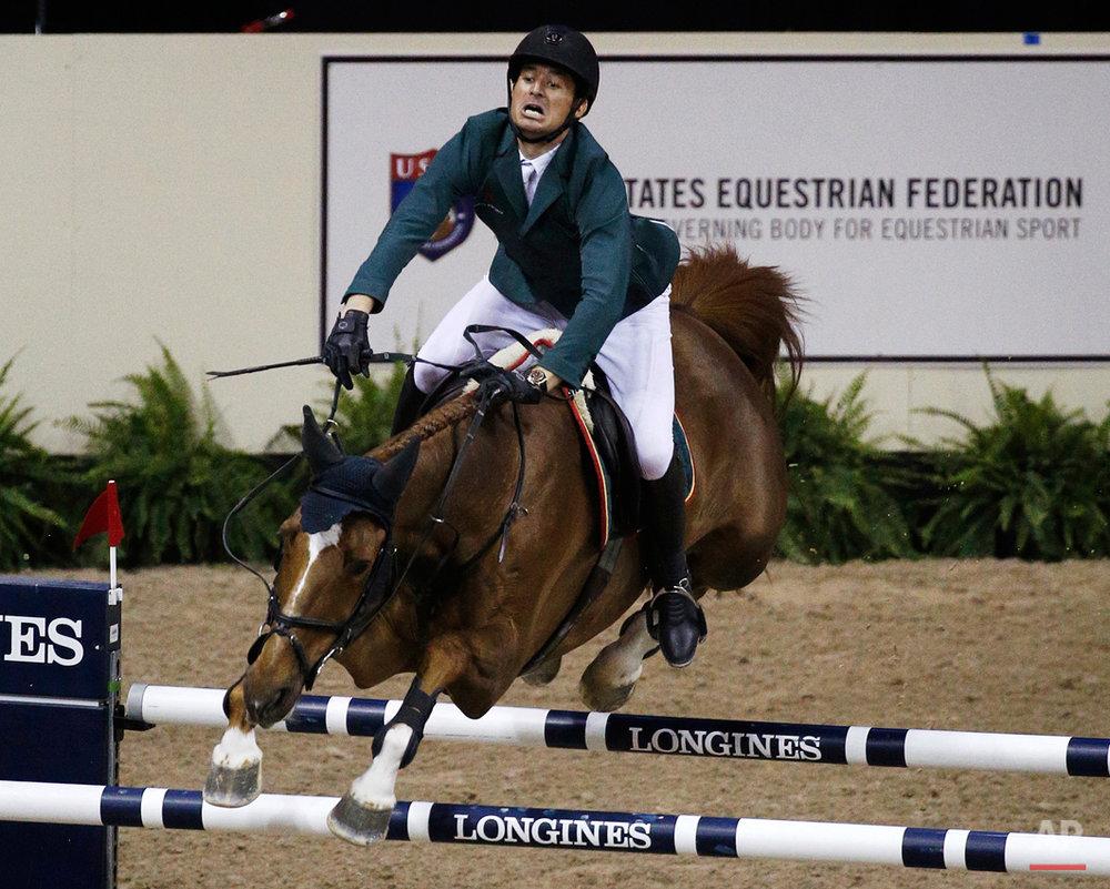 APTOPIX Equestrian World Cup