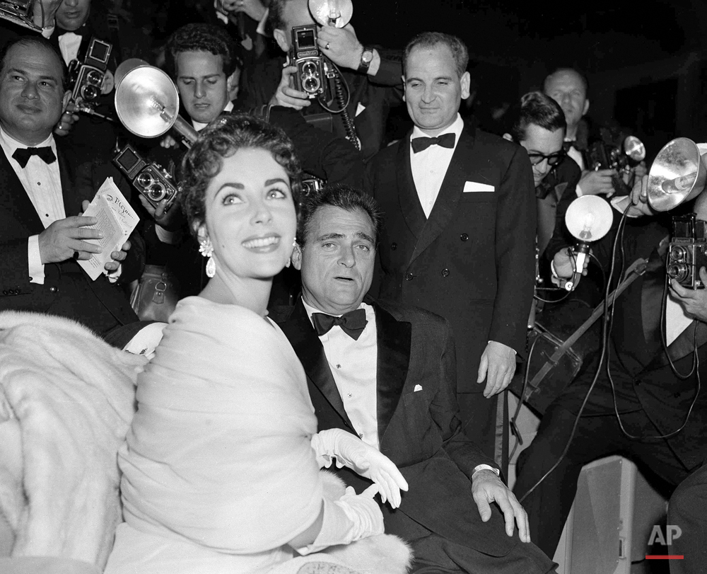 Elizabeth Taylor and Mike Todd 1955