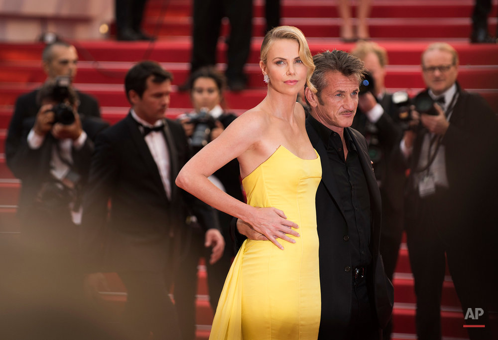 Charlize Theron and Sean Penn 2015