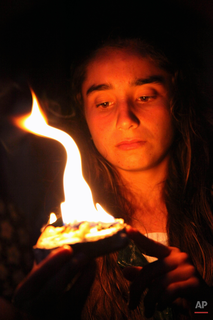 Mideast Iraq Yazidi New Year Photo Gallery