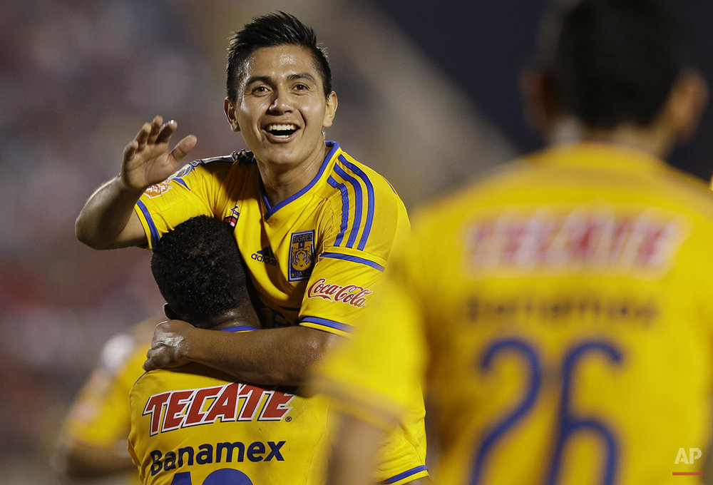 APTOPIX Peru Mexico Soccer Copa Libertadores