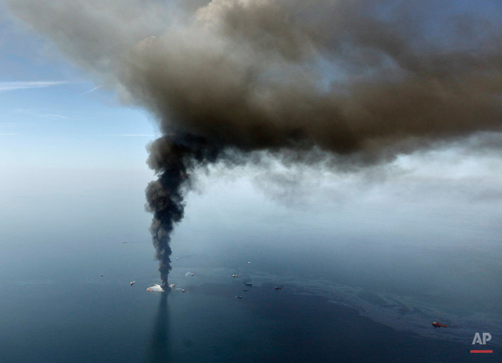 Gulf Oil Spill Iconic Images