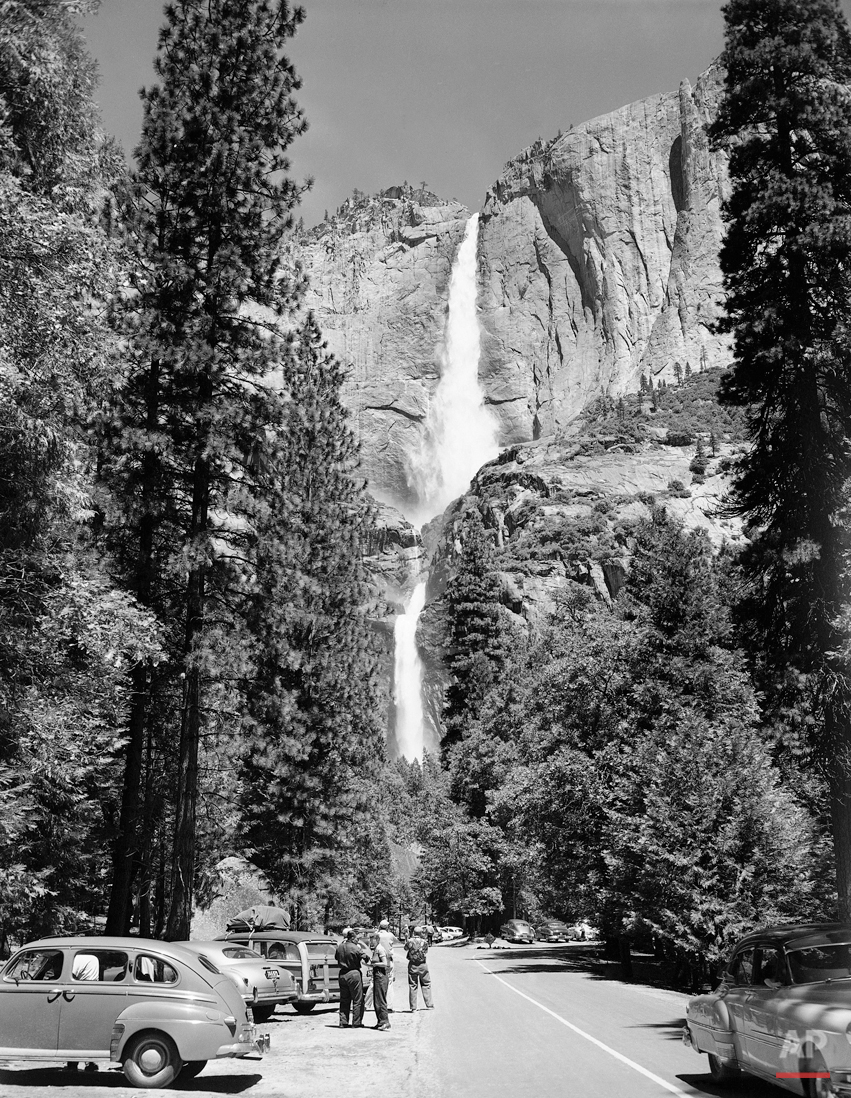 National Parks Yosemite 1952