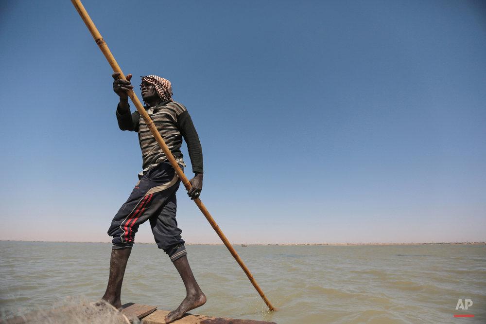 Mideast Sudan Nile Fishermen Photo Essay