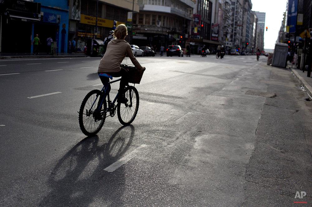 APTOPIX Argentina Transportation Strike