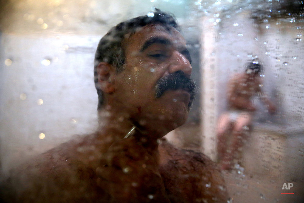 Mideast Iran Fading Bathhouses Photo Essay