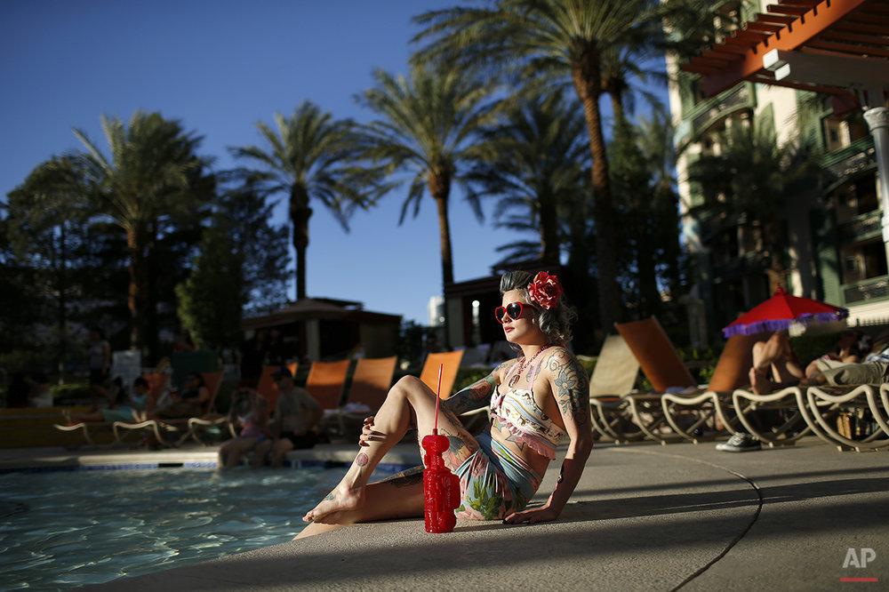 APTOPIX Rockabilly Vegas Photo Gallery