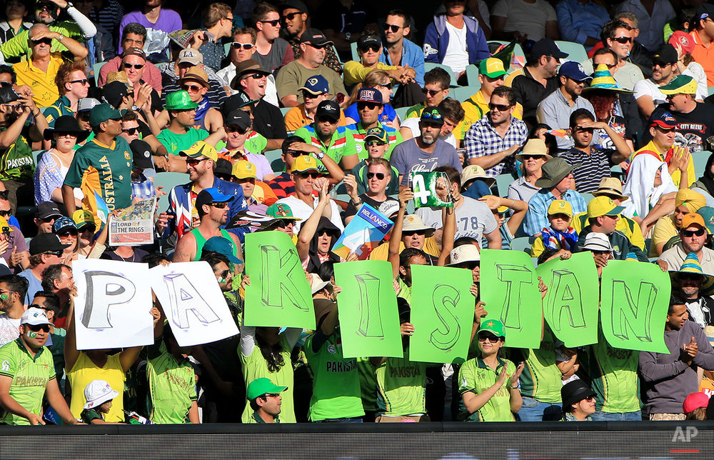 Cricket WCup Australia Pakistan