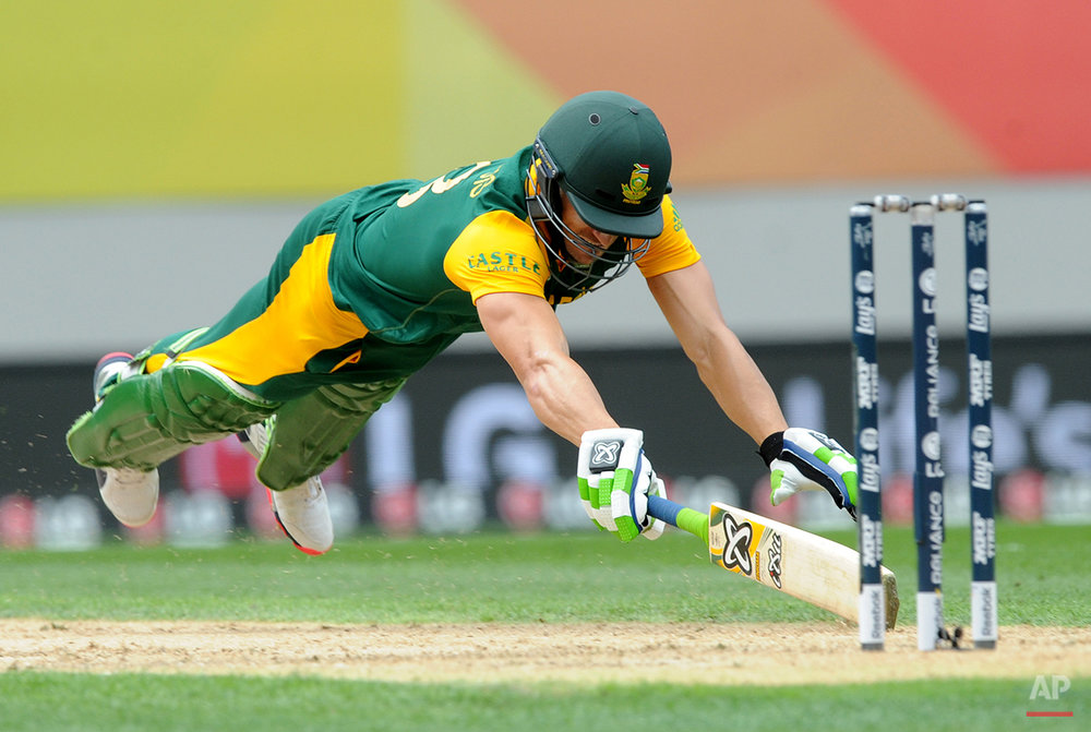 APTOPIX Cricket WCup New Zealand South Africa