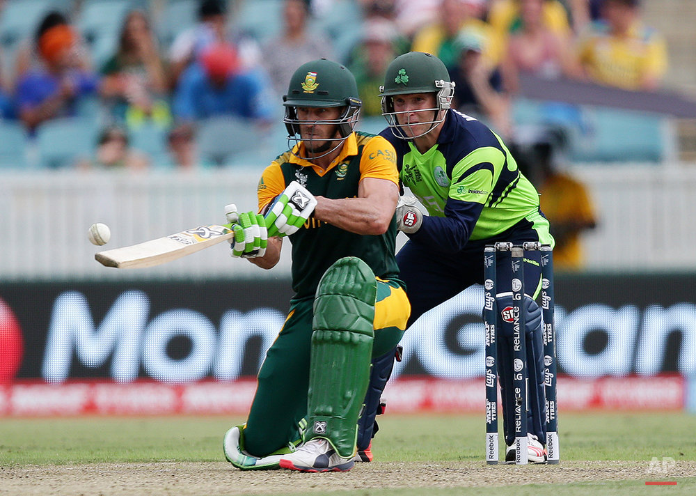 Cricket WCup South Africa Ireland
