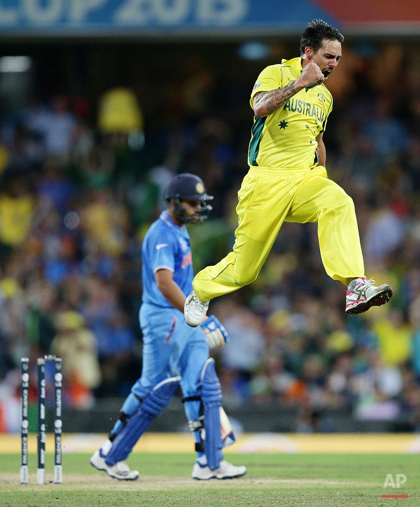 Cricket WCup Australia India