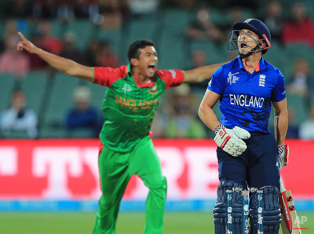 APTOPIX Cricket WCup England Bangladesh