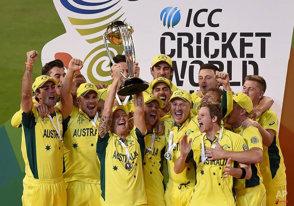 Cricket WCup New Zealand Australia