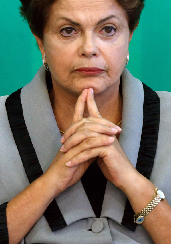 APTOPIX Brazil Rousseff