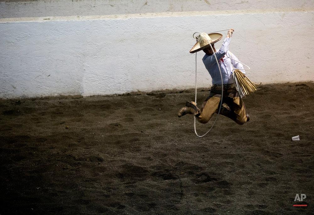 APTOPIX Mexico Charreria Photo Gallery