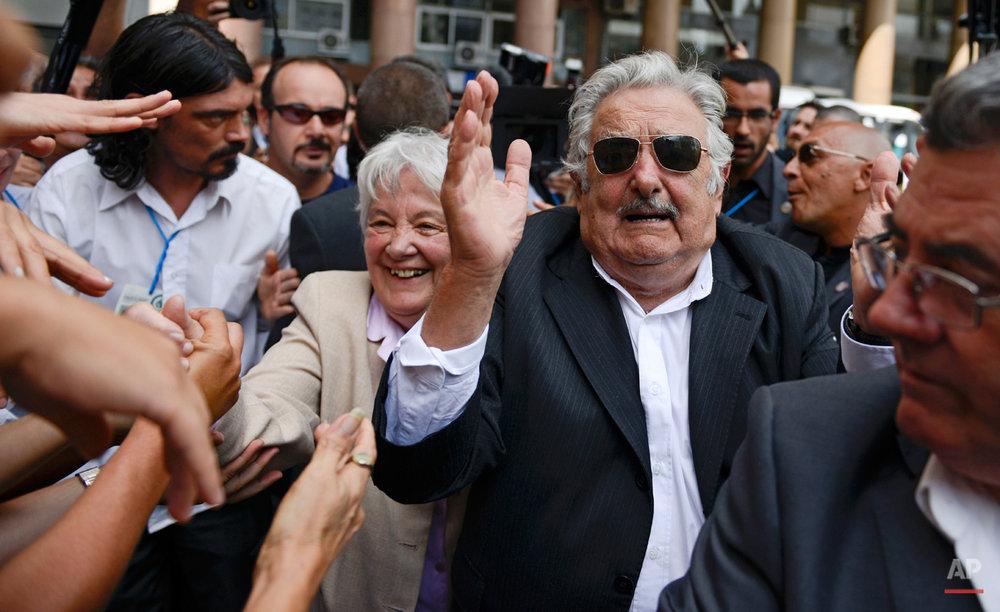 APTOPIX Uruguay President
