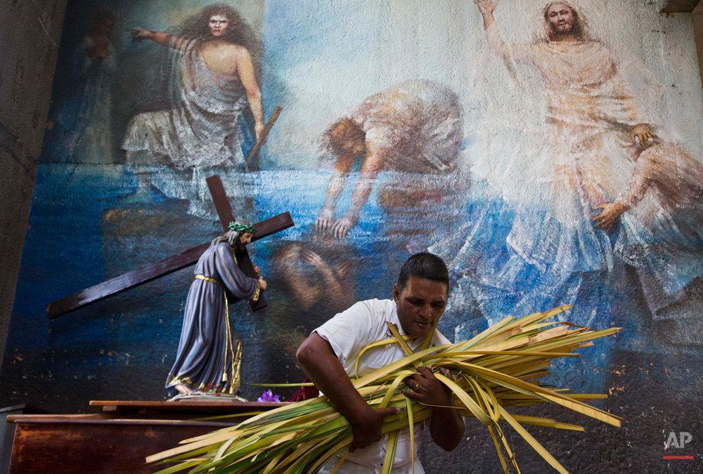 Nicaragua Palm Sunday